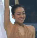 フィギュアスケート選手 浅田真央 セクシー 衣装 脇 笑顔 高画質エロかわいい画像15