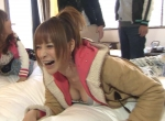 手島優 セクシー 胸チラ 巨乳おっぱいの谷間 笑顔 地上波キャプチャー ブラチラ エロかわいい画像22
