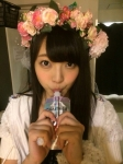 SKE48 二村春香 セクシー エネルギーチャージ 咥え 顔アップ カメラ目線 高画質エロかわいい画像3 擬似フェラ顔