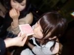 AKB48 川栄李奈 セクシー 咥え 胸チラ おっぱいの谷間 ブラチラ 下着 高画質エロかわいい画像23