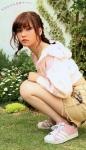 AKB48 島崎遥香ぱるる セクシー ショートパンツ しゃがみ 太もも おさげ カメラ目線 高画質エロかわいい画像71