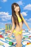 AKB48 北原里英 セクシー 黄色ローレグビキニ水着 カメラ目線 太もも 高画質エロかわいい画像65