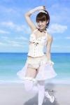 AKB48 大島優子 セクシー ウエディングドレス風 ビキニ水着 おっぱいの谷間 ポニーテール 脇 太もも ストッキング 高画質エロかわいい画像102