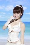 AKB48 大島優子 セクシー ウエディングドレス風 ビキニ水着 おっぱいの谷間 ポニーテール カメラ目線 高画質エロかわいい画像104