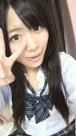 SKE48 山内鈴蘭 セクシー 顔アップ ピース 舌出し 女子高生 制服 カメラ目線 高画質エロかわいい画像37