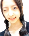 HKT48 森保まどか セクシー ウインク 顔アップ おさげ カメラ目線 高画質エロかわいい画像11