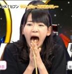 HKT48 宮脇咲良 セクシー 口開け 舌 顔アップ 困り顔 地上波キャプチャー 高画質エロかわいい画像4