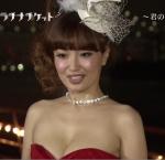 平子理沙 セクシー ドレス 巨乳おっぱいの谷間 地上波キャプチャー 高画質エロかわいい画像1