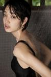 剛力彩芽 セクシー 水着 シャワー 濡れている ショートヘア 顔アップ カメラ目線 女優 高画質エロかわいい画像60
