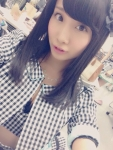 SKE48 柴田阿弥 セクシー 胸チラ おっぱいの谷間 自撮り カメラ目線 高画質エロかわいい画像10