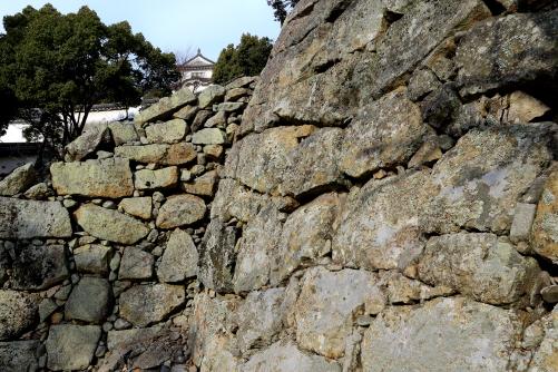 黒田勘兵衛が築いたとされる石垣
