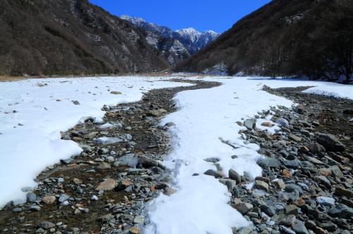 赤河原から望む東駒ヶ岳-3