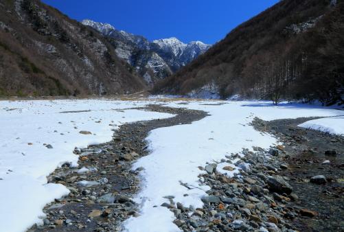 赤河原から望む東駒ヶ岳-4