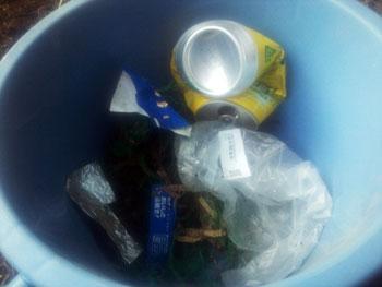 山道で拾ったゴミ