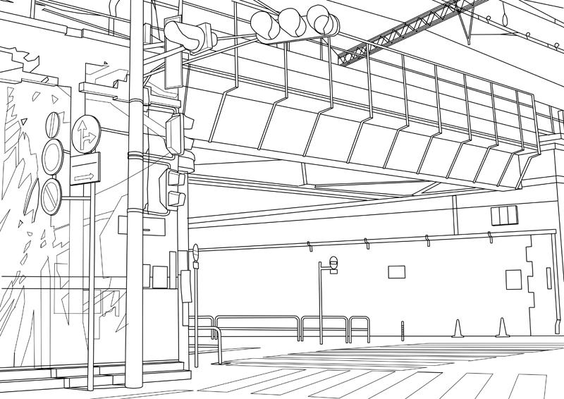 ■02 線画 背景
