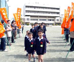 20140504入学おめでとう応援隊