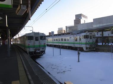 函館駅普通列車