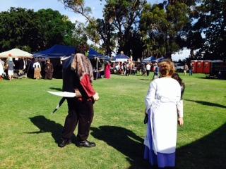 medieval festival perth写真 2