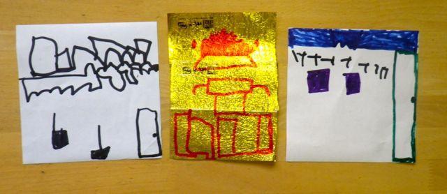 折り紙が家1