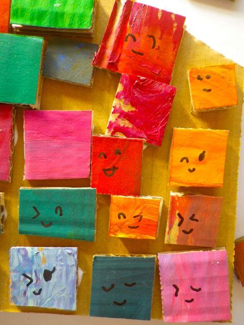 絵の具ブロック・ゆめ3