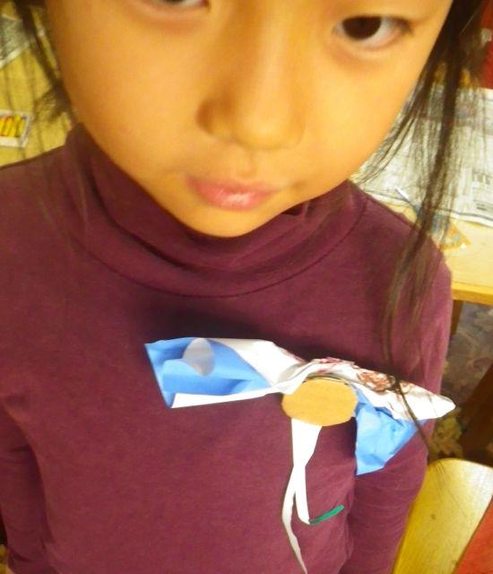 羽ばたくセーター・りぼん2