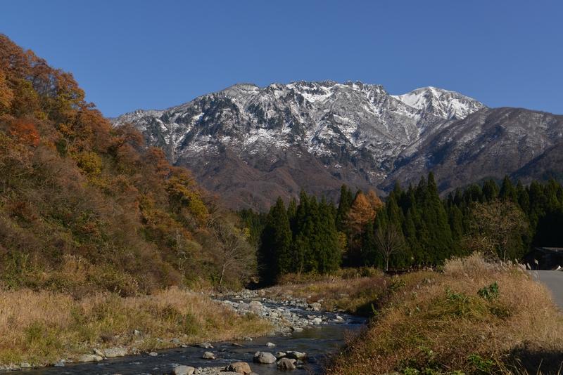 八海山  秋晴れ-2