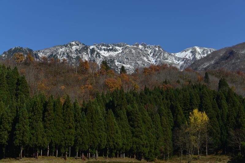 八海山  秋晴れ-3
