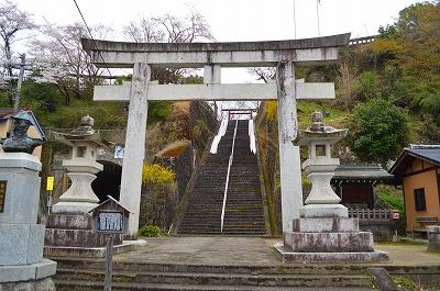 岡城祉と広瀬神社とキリシタン 017