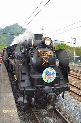秩父鉄道SL列車 008