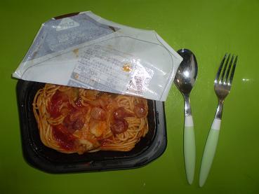 冷凍スパゲティー