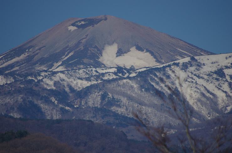 2014.04.15 吾妻小富士の雪うさぎ
