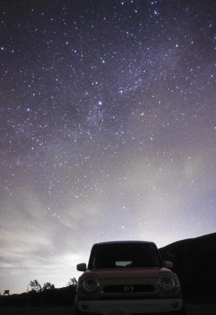 フレアな星空