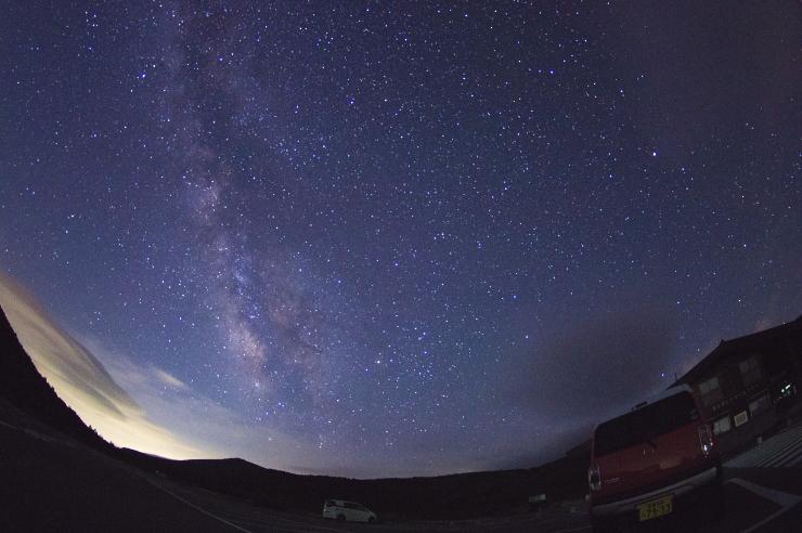 月末の銀河