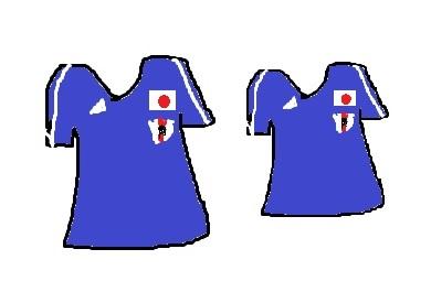 日本代表ユニホーム2