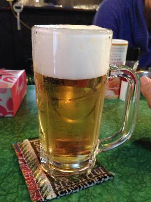 オオムラの生ビール