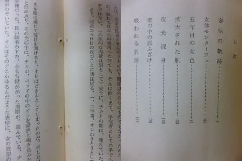 葉田 光 夜光裸身 昭和34年 耽奇サスペンス