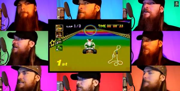Mario Kart 64 - Rainbow Road Acapella
