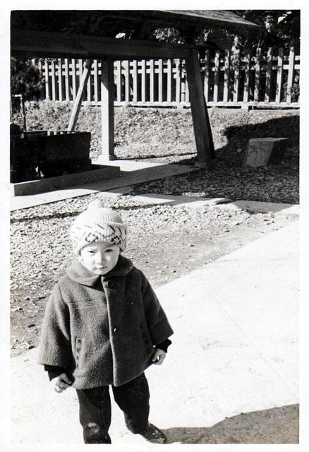 4歳の時に行った初詣