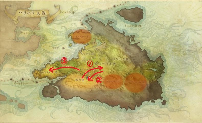 カボチャ地図