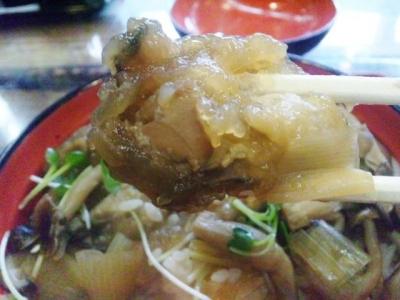 牡蠣丼 (2)