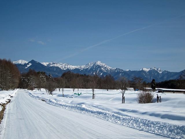 冬の八ヶ岳雪景色