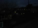 夜間根府川遠景