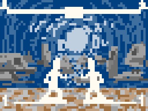 青の洞窟と遺跡っぽい
