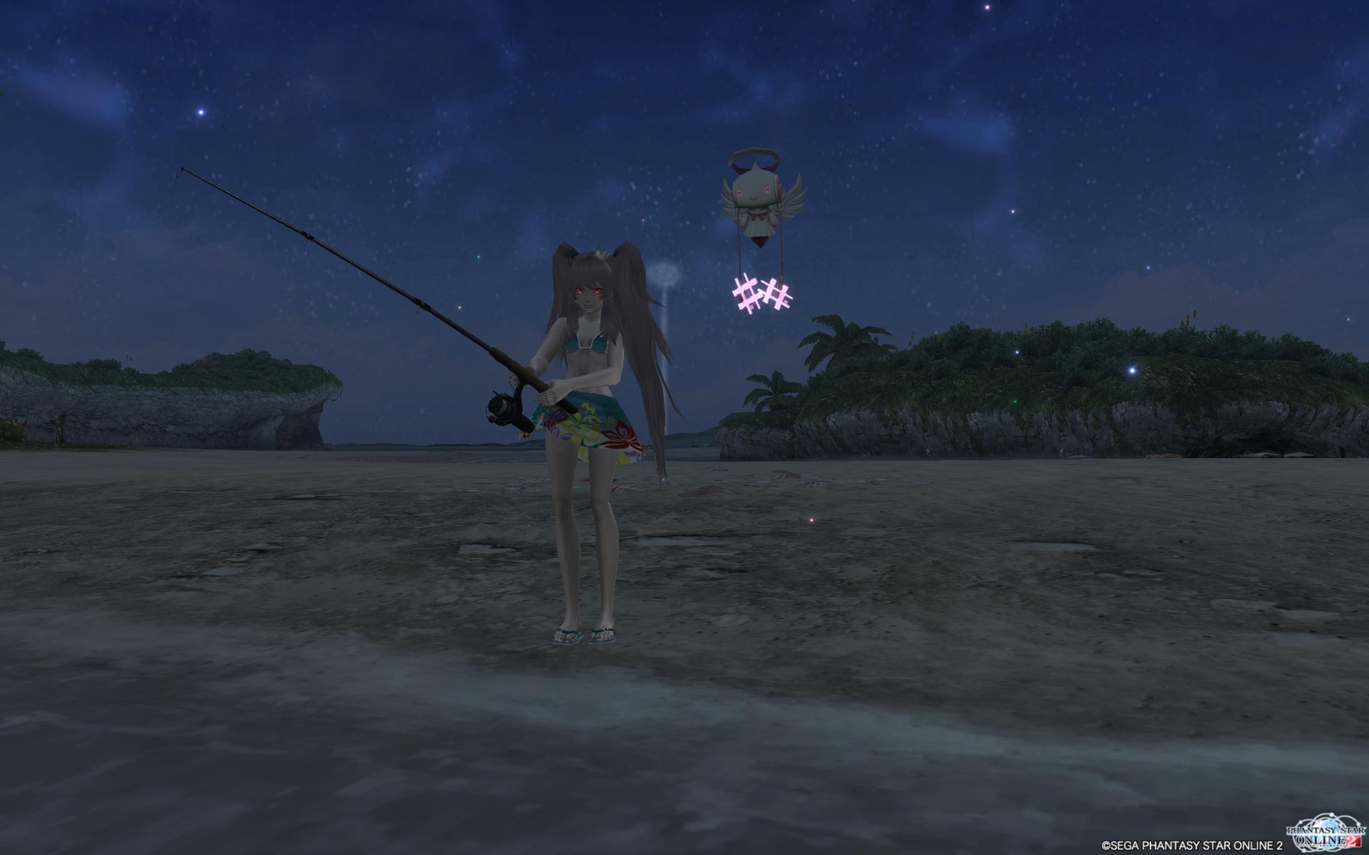 ナイトスコープ釣り01