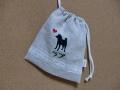 柴犬のラブちゃん の巾着1