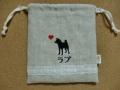 柴犬のラブちゃん の巾着2
