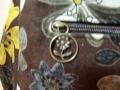 お散歩ショルダーB(茶系の花柄)3