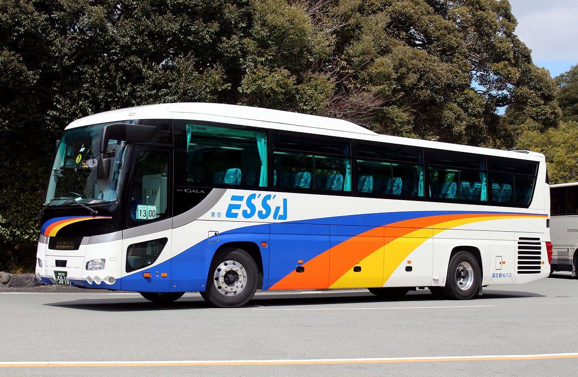 越佐観光バス 5010 バス三昧