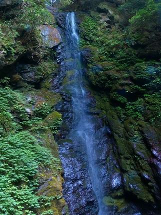 雨乞の滝・雄滝_その1
