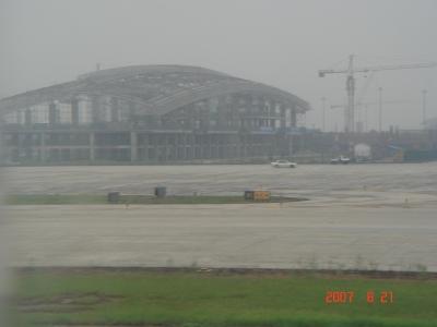成都空港到着